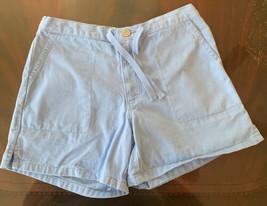 GAP Girl's drawstring denim shorts size 14 - $12.67