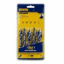 Irwin Speedbor 1877240 Max Speed Tri-Flute 5-Piece Drill Bit Set - $13.86