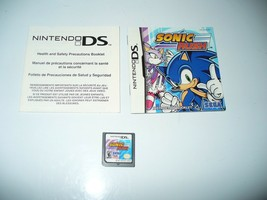 Sonic Rush (Nintendo DS, 2005) Game Cartridge and Instructions - $12.75