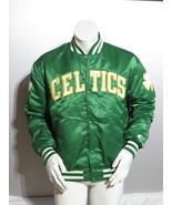 Boston Celtics Jacket (VTG) - Satin Classic by Starter - Men's Extra-Large  - $249.00