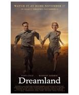"Dreamland Poster Finn Cole Margot Robbie 2020 Movie Art Film Print 24x36"" 27x40"" - $10.90 - $24.90"