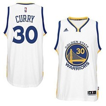 Golden State Warriors Adidas Stephen Curry #3 Swingman Men's 4XL White J... - $73.85