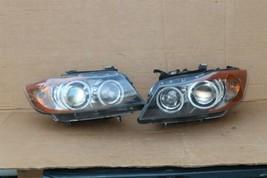 06-08 BMW E90 330i 4dr HID Xenon AFS Adaptive Headlight Set L&R POLISHED - $719.10