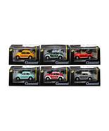 Volkswagen Beetle Set of 6 Cars in Display Cases 1/72 Diecast Model Cars... - $42.17