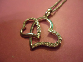 HEARTS NECKLACE  (14599)  >> USA SELLER  - $8.90