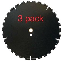 """3 pk 10"""" Fire Rescue Root Cutter Carbide tipped Demolition Blade x .250  - $460.35"""