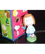 """5"""" Peanuts Peppermint Patty Porcelain Figurine With Box By Flambro Impor... - $46.74"""