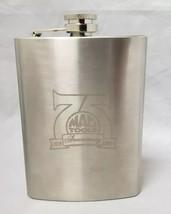 Mac Tools 75th Anniversary Metal Flask 1938-2013, 7 oz, Stainless Steel - $13.54