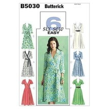 Butterick Patterns B5030 Misses' Dress, Belt and Sash, Size FF (16-18-20... - $14.70