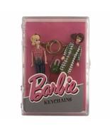 Vintage Mattel Barbie And Midge Purse Fishing Rod Picnic Dolls Key Chain... - $18.53