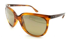 Ray-Ban Sunglasses RB 4126 820/3K 57-19-140 Striped Brown / Brown Silver... - $105.06