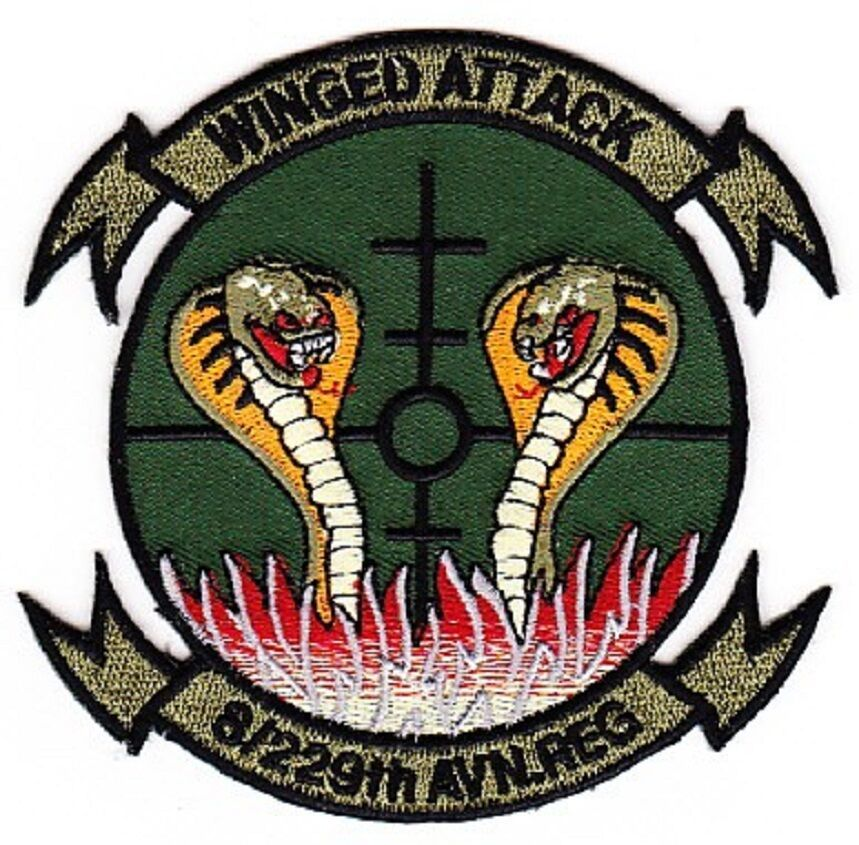 US Army 8th Battalion 229 Aviation Regiment ACU military patch WINGED ATTACK - $11.87