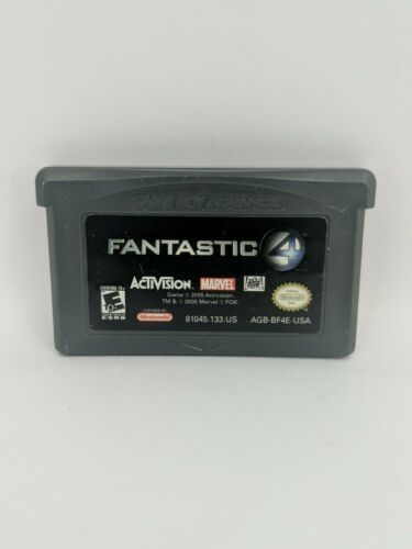 Fantastic 4 Nintendo Game Boy Advance 2005