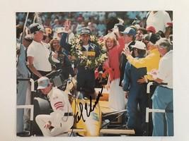 Al Unser Jr Indy 500 Hand Signed 8 X 10 Photo Autographed COA - $24.70