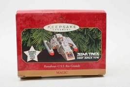 Hallmark Keepsake Ornament - Star Trek DS9 - Runabout-U.S.S. Rio Grande L28 - $14.50