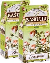 Basilur 2 Pack White Magic Loose Leaf Oolong Tea 3.5oz/100g Each - $17.59
