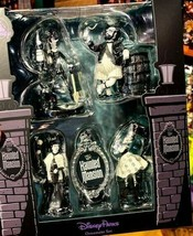 Disney World Haunted Mansion Glow in the Dark Boxed Ornament Set, NEW - $54.95
