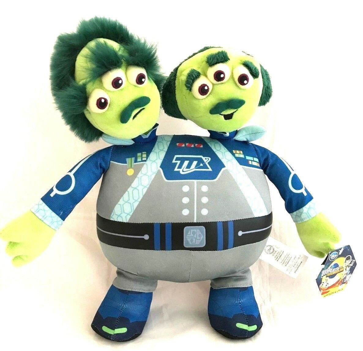 "Primary image for Miles from Tomorrowland Plush Watson Crick 14"" NEW Disney Store Stuffed Animal"