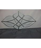 Vintage Beveled Leaded Glass Geometric Free Form Window Ornament Art Gla... - $113.85