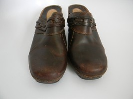 Clarks Artisan Collection Womens Brown Leather Upper Slip On Shoes Size ... - $24.99