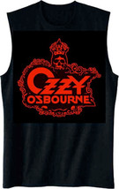 Ozzy Osbourne-Skull Logo-X-Large Black Men's Muscle Tanktop  T-shirt - $19.34