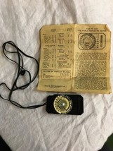 Vintage Pierce Exposure Meter Still Model Camera Light Extinction Meter - $24.99