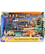 Boley City Maintenace Play Set 50 Piece Battery Operated Remote Control ... - $54.44