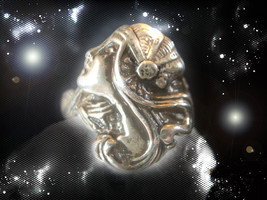 Haunted Antique Ring Most Breath Taking Beauty & Attraction Secret Magickck - $7,737.77