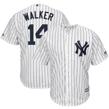 Men's New York Yankees Neil Walker #14 White Polyester Cool Base Player ... - €46,70 EUR