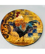 "Certified International    RUSTIC  ROOSTER  ""Birchen Maran"" Salad Plate ... - $22.52"