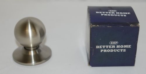 Better Home Products 10326DC Dummy Ball Knob Design Satin Nickel