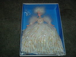 MINT 1994 Mattell Snow Princess Barbie Doll Limited Edition NRFB - $28.01