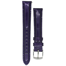 Michele 16mm Medium Purple Genuine Patent Strap MS16AA050510 Deco 16 Lilou - $42.07