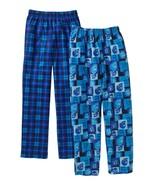 Faded Glory Boy's Fleece & Brushed Jersey Sleep Pants Size X-Small Skull... - $13.85