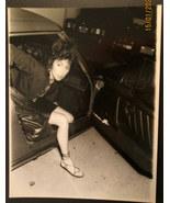 CHER ( ORIGINAL VINTAGE RARE CANDID PHOTO) PHOTOGRAPHER INFO ON BACK # 1 - $125.00