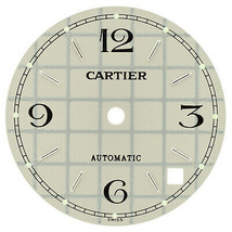 Cartier Pasha C Steel 26 mm Grey Grid Dial for 35 mm Watch - $199.00
