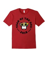 Boxer Dog Year Of The Dog Chinese New Year 2018 T-Shirt - $17.99+