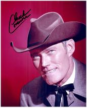 CHUCK CONNORS Authentic Original  SIGNED AUTOGRAPHED 8X10 PHOTO w/COA 2350 - $75.00