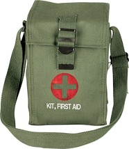 Olive Drab Platoon Leaders Military Emergency First Aid Pouch - $9.99