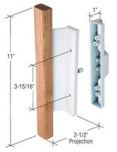 "Sliding Glass Patio Door Handle, Mortise Style, 3-15/16"" Screw Holes, Wo... - $44.50"