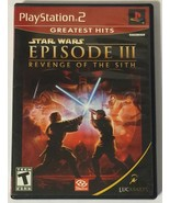 Star Wars: Episode III: Revenge of the Sith (Sony PlayStation 2, 2005) - $5.93