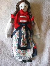 """Porcelain Doll Ornament Figurine International Vintage 7 1/2"""" CL23-36  - $7.99"""