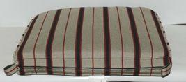 Hanamint CAC7522 4129D Dapper Gray Stripe Dining Cushion image 3