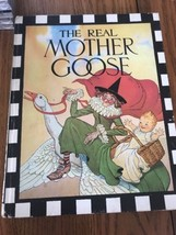 Vintage THE REAL MOTHER GOOSE Nursery Rhymes Children's BOOK - Hardcover - $31.99