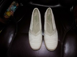 GRASSHOPPER Ortholite Memory Foam Espadrille Wedge Walking Shoes Size 9.... - $36.00