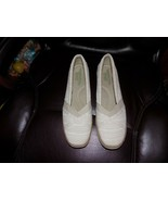 GRASSHOPPER Ortholite Memory Foam Espadrille Wedge Walking Shoes Size 9.5M NWOB - $36.45