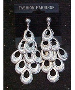 Earrings - Silver Color-Dangles Pierced Ears - $3.00