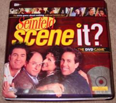 SCENE IT DVD GAME SEINFELD 2008 SCREENLIFE KOHLS COMPLETE EXCELLENT  - $15.00