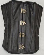 Leather Ladies Corset with Buckles - $89.95