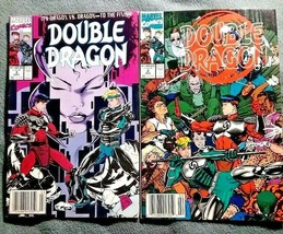 Double Dragon Marvel Comic Book lot of two 1991 - $6.79
